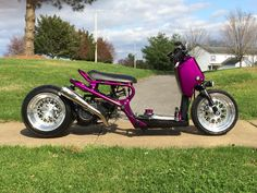 Honda Ruckus purple