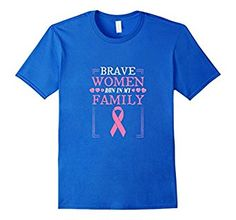 Brave Women Run In My Family Breast Cancer Pink Ribbon Shirt. Buy it here: https://www.amazon.com/Brave-Family-Breast-Cancer-Ribbon/dp/B01LYCOWM2 #cancer #breastcancer #breastcancersupport #cancershirt #tshirt