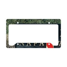 The MUMM Napa Valley wineryer License Plate Holder on CafePress.com