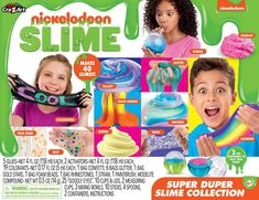 Click the image to see the offer of the Cra-Z-Art Nickelodeon Super Duper Slime Collection product Slime Craft, Diy Slime, Mermaid Slime, Galaxy Colors, Slime Kit, How To Know, How To Make, Z Arts, Craft Accessories