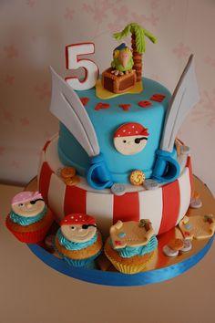- Pirate cake