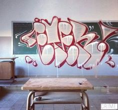 Eter throwie #graff #graffiti #throwup
