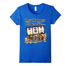 Women's Fun T Shirt Gambling Slot Machine Happy Place is ... https://www.amazon.com/dp/B01DI90US6/ref=cm_sw_r_pi_dp_69UFxbD8TKH8B