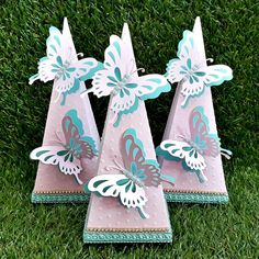 Butterfly Theme Party, Butterfly Wedding, Eid Boxes, Quince Themes, Diy And Crafts, Paper Crafts, 4th Birthday Parties, Baby Party, Party Favors