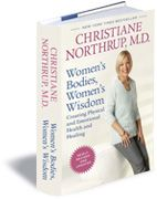 """Women's Bodies Women's Wisdom by Christiane Northrup <---another one of my favorite books. It may look """"cheesy"""" but it's full of incredible information about women's bodies and holistic healing. Every woman should read this book!"""