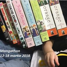 Sleepywolfread: Mangathon 12-18 martie 2018