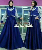 Meidina dress navy