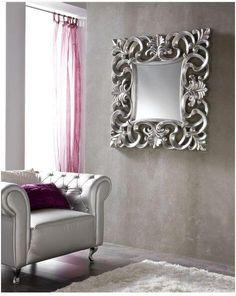 Espejo. Mirror.  #furniture  #muebles  #Málaga  http://www.decorhaus.es/es/