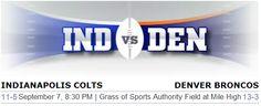 Indianapolis Colts vs. Denver Broncos NFL Preview - #colts #Broncos #INDvsDEN #Denver #NFL #Football #Indianapolis #sportsbook #betting
