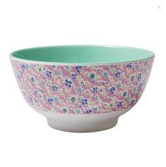 Melamine Bowl Two Tonewith Cascading Flower Print MELBW-ICFL £ 8.99