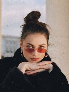 Women's sunglasses Fashion - Rose tint tiny sunglases - discountedsunglasses.co.uk