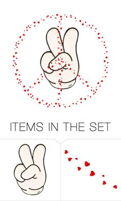 """""""Peace"""" by caitlynsmith-fo ❤ liked on Polyvore featuring art"""