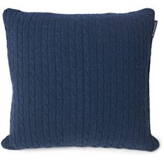 Lexington Holiday Knitted Sham Blue