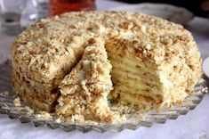 """Cake """"Minute"""" without baking Ingredients: For cake: 3 tbsp. 1 Bank of condensed milk; of baking soda (to repay vinegar). Russian Cakes, Russian Desserts, Russian Recipes, Cheesecake Recipes, Dessert Recipes, Baking Recipes, Napoleon Cake, Easy Cake Decorating, Food Cakes"""