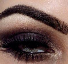 Dark eye makeup is so sexy