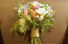 bouquet wildflowers | By Maggie Lord In: Classic Rustic , Mountain Weddings , Real Rustic ...