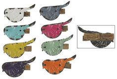 These whimsical, colorful, Embossed Metal Bird Clips, Set of 8 will brighten up your day wherever you decide to use them. Visit Antique Farmhouse for more whimsical clips. Antique Farmhouse, Farmhouse Decor, Metal Birds, Creative Co Op, Clips, Shabby Chic Homes, Inspired Homes, Types Of Fashion Styles, House Colors