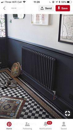 New Flooring Tile Patterns Entrance Ideas Edwardian Haus, Edwardian Hallway, Victorian Hallway Tiles, Hall Tiles, Tiled Hallway, Tile Stairs, Hall Flooring, Bedroom Flooring, Hallway Designs