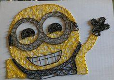 Minion string art