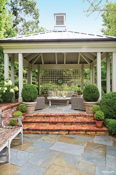 """Too formal, need to """"farmhouse"""" it a little for it to match the rest of the architecture of our house. Covered patio"""