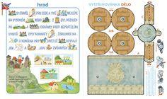 sluníčko Activities For Kids, Alphabet, Reading, School, Children, Logo, Creativity, Weaving, Young Children