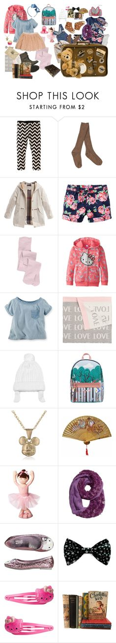"""""""...of Their Belongings... An Attempt at Furthering Their Lives Away From Home, Parents..."""" by kayce35 ❤ liked on Polyvore featuring Ralph Lauren, Tea Collection, Burberry, Carter's, Hello Kitty, STELLA McCARTNEY, Elegant Baby, Fendi, Kara and Disney"""