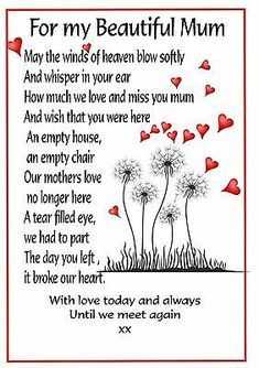 Birthday In Heaven Quotes, Mom In Heaven Quotes, Love You Mom Quotes, Happy Mother Day Quotes, Mother Quotes, Son Quotes, Prayer Quotes, Happy Mothers, Qoutes