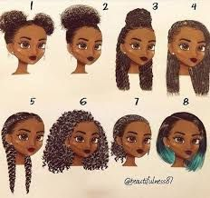 Image Result For Black Girl Drawing Hairstyles Short Natural Hair Styles Natural Hair Styles Curly Hair Styles Naturally