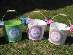 easter pails