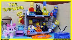Abertura dos Simpsons feita com Lego