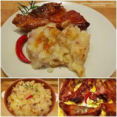 Femeie Astazi - Donna Oggi - Woman Today: Costine arrosto e sformato di patate / Roasted rib... Flan, Tofu, My Recipes, Mashed Potatoes, Fresh, Ethnic Recipes, Vegan, Pudding, Whipped Potatoes