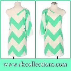 chevron dress one sleeve - - Yahoo Image Search Results