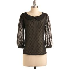 $53.00 - Tulle Clothing Dot in the Act Top