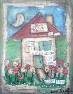 Art by Erin Leigh: A finished home...