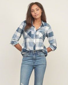 Womens Shirts | Abercrombie.com размер М