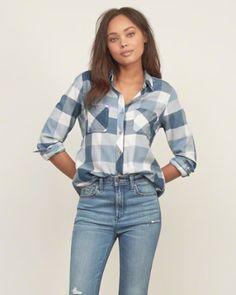Womens Shirts | Abercrombie.com размер М