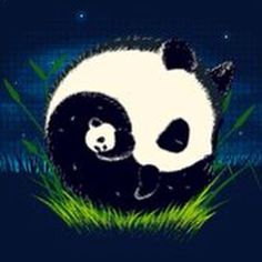 Yin Yang Panda Love