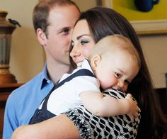 Aww! Happy 1st birthday to the little prince! Click to see a full gallery of shots. #InStyle