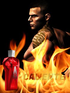 Mass Effect Perfume Series - James Vega Caliente - haha this is the best