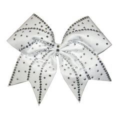 Hair Accessory for Cheer / Dance / Gymnastics / Daily wear -... (£23) ❤ liked on Polyvore featuring accessories, hair accessories, hair bow accessories and rhinestone hair accessories