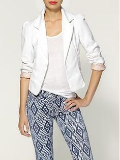 White blazer-MUST HAVE for Spring and Summer