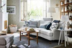 Oxford Delux 3-sits soffa svängd