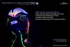 Web : http://www.welcometothefuture.fr  Facebook page : www.facebook.com/welcometothefutureproject Modèle : Synthia Miantama in the FUTURE Makeup : Mélissa Vignot MUA keywords : Lighting / Ultraviolet / Blacklight / neon photography / body painting / UV makeup / body art TAGS : #neon #blacklight #makeup #bodypainting #ultraviolet #fluo #welcometothefuture