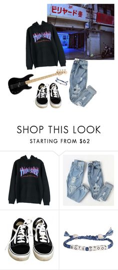 """Untitled #53"" by thishazyheadofmine on Polyvore featuring Vans and Venessa Arizaga"
