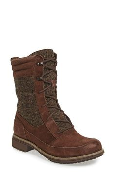 Free shipping and returns on The North Face 'Bridgeton Lace' Waterproof Boot (Women) at Nordstrom.com. A waterproof, insulated lace-up boot shaped from velvety suede features a durable TNF Winter Grip® sole for superior traction, making it a fashionable choice when the weather threatens its worst.