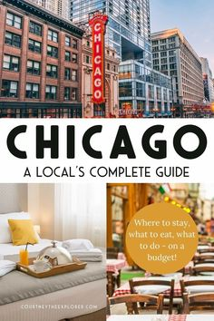 A local's complete travel guide to Chicago. Featuring where to eat in Chicago, where to stay in Chicago, how to get around and the top 10 best things to do! When you travel to Chicago, be sure to visit www.courtneytheexplorer.com for all the Chicago Travel insight you need! Travel Money, Budget Travel, Travel Usa, Canada Travel, Us Travel Destinations, Best Places To Travel, United States Cities, Travel Guides, Travel Tips