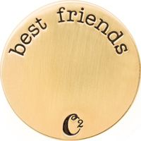 GOLD BEST FRIENDS PLATES