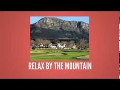 Holiday Places in Cape Town Holiday Places, Cape Town, South Africa, Relax, African, World, Youtube, Books, Pictures