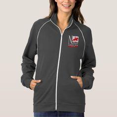 NEIHC Women's Fleece Track Jacket - diy cyo customize create your own personalize