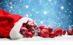 Floco de neve de natal background template